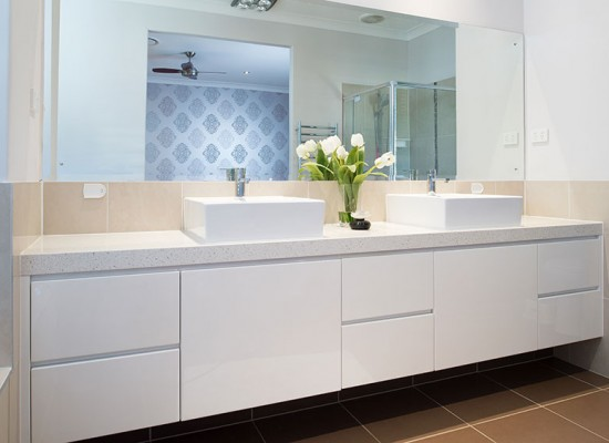 Bathroom Sinks Brisbane our work - viva cabinets